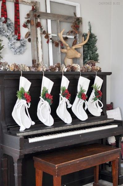 Stockings On Piano