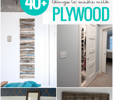 Creative Plywood DIY Projects
