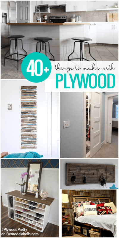 Creative Plywood Projects @Remodelaholic