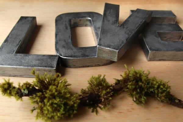 Diy Faux Zinc Letters Apieceofrainbow (12)
