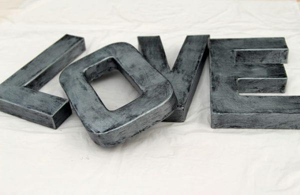Diy Faux Zinc Letters Apieceofrainbow (6)