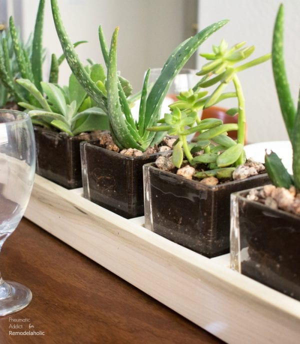 How To Build A Long Wood And Glass Planter