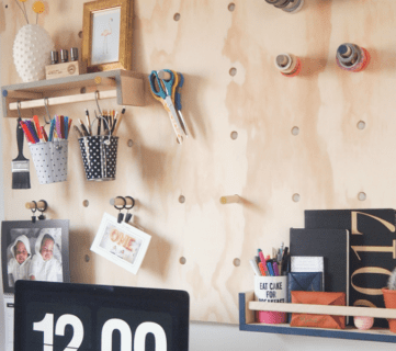 How to Make a Jumbo Plywood Pegboard
