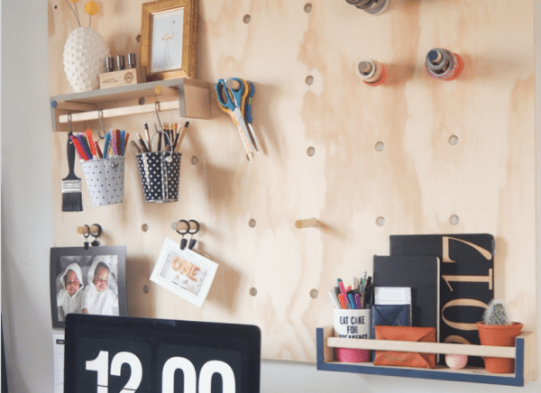 Feat Jumbo Plywood Pegboard