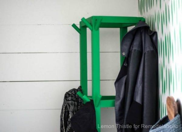 Feat Wooden Cube Coat Rack Diy Rm 17022111