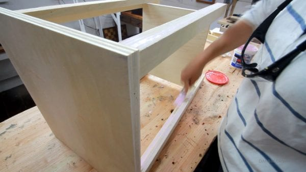 Fill Plywood Edges With Spackle, Addicted 2 DIY
