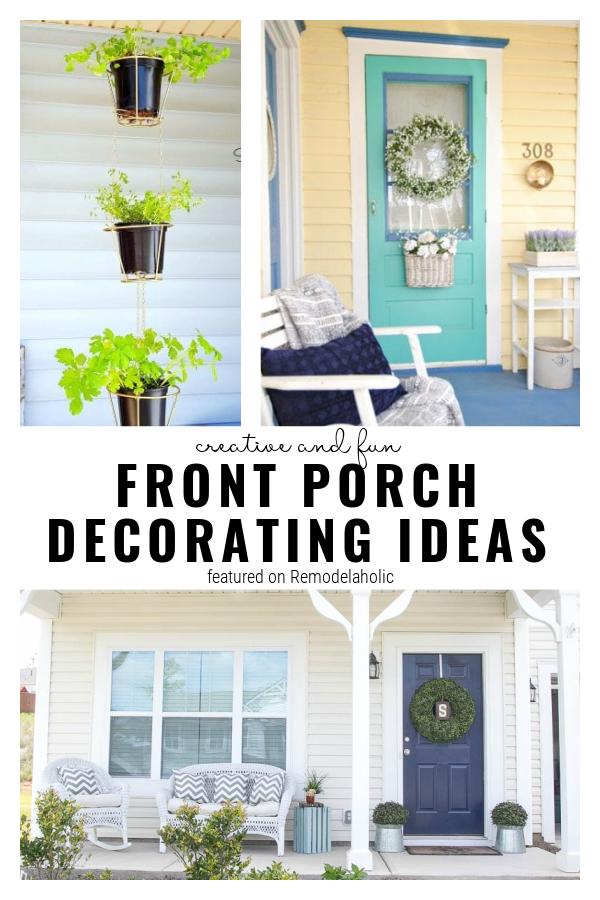 Ideas de decoración para el porche, una colección de remodelaholic