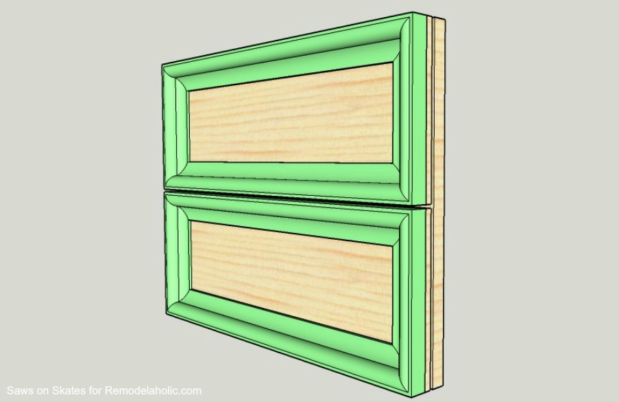 Ikea Hack Vanity Saws On Skates Door Assembly 2