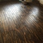 Plywood Plank Flooring, Aaron Colon 1 15 16, 3 Ply Plywood Stained Minwax Dark Walnut, Featured On @Remodelaholic