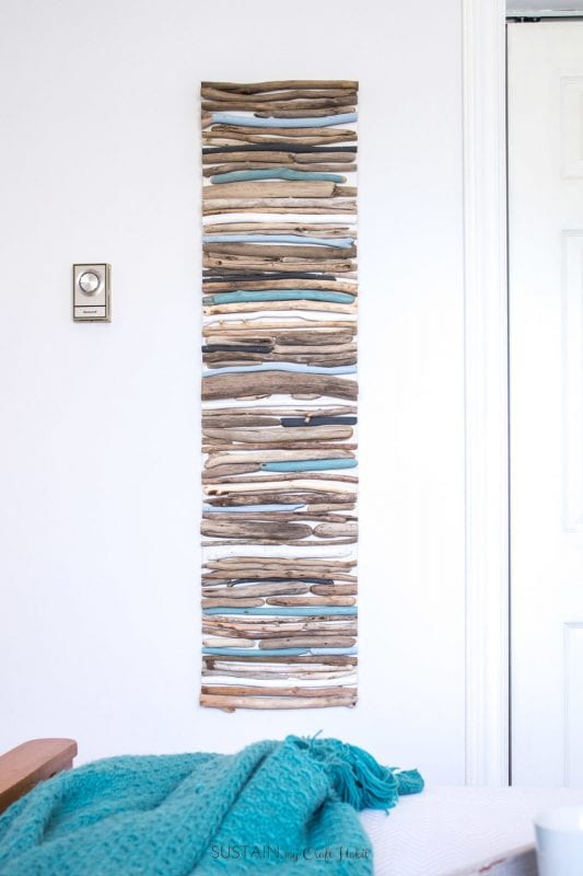 Plywood Projects, Driftwood Wall Art Sustainmycrafthabit