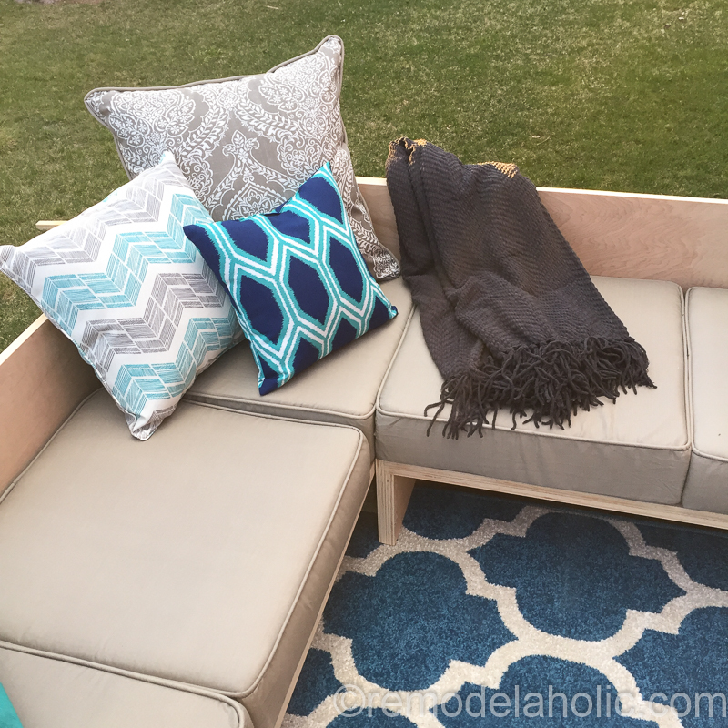 Plywood Sofa Sectional 1