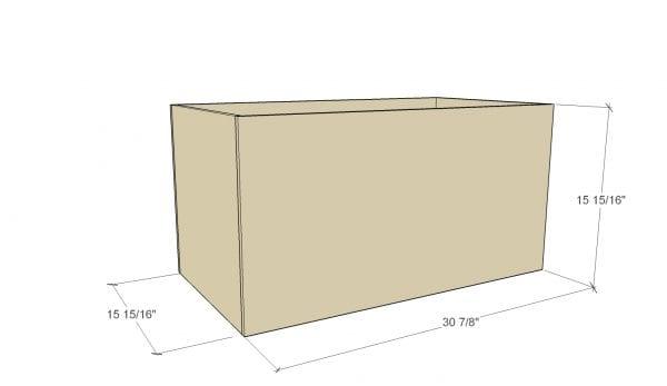 Remodelaholic Plywood Toybox 1