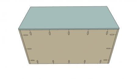 Remodelaholic Plywood Toybox Assembly 2