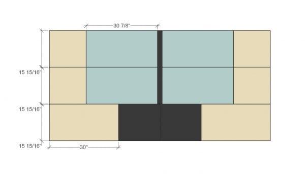 Remodelaholic Plywood Toybox Cut Diagram 3
