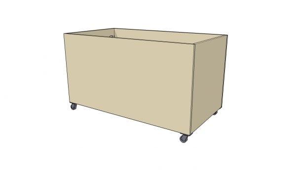Remodelaholic Plywood Toybox Final