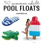 50 Summer Adult Pool Floats Remodelaholic