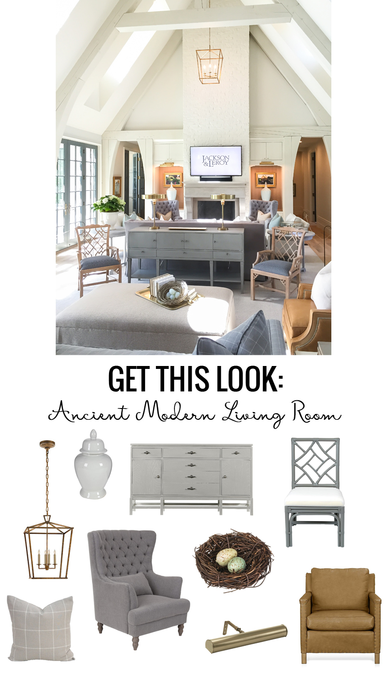 Get This Look Ancient Modern Living Room