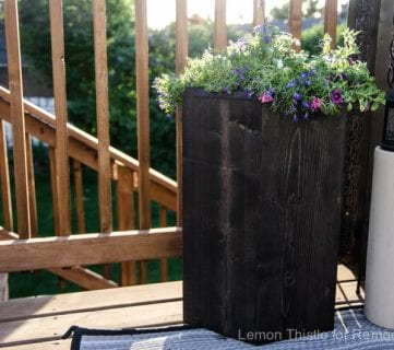 How to Build a One Board 2×8 Hexagon Planter