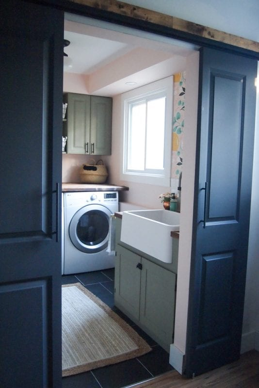 Laundry Room Makeover One Room Challenge 2017 1