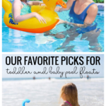 Our Favorite Picks For Toddler And Baby Pool Floats Featured On Remodelaholic.com