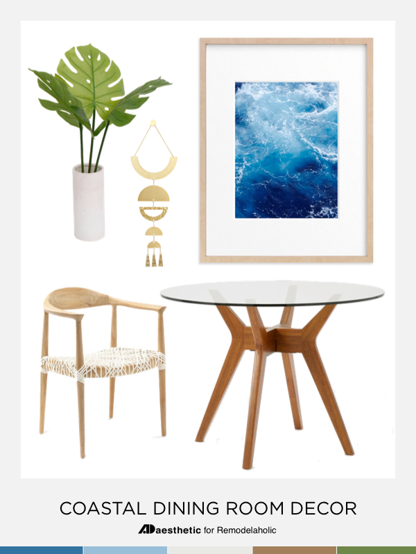 Inspiration and tips for decorating a casual coastal dining room   get the look   beach house