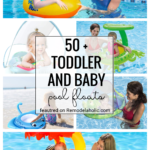 The Cutest Toddler And Baby Pool Floats Featured On Remodelaholic.com