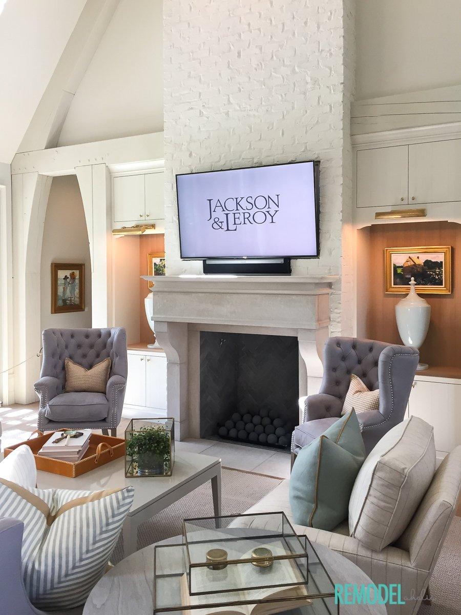 Ancient Modern Living Room
