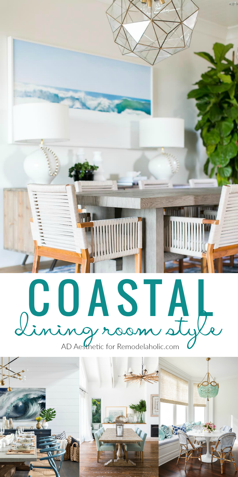 Coastal Dining Room Style Tips And Inspiration Remodelaholic