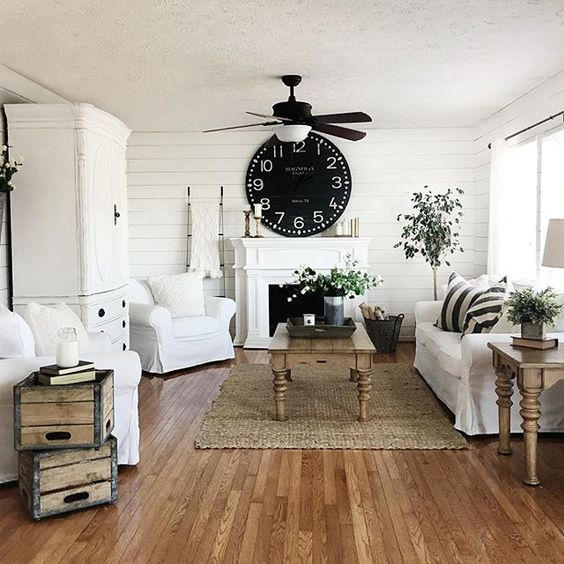 Modern Farmhouse Design Ideas: Budget Friendly Modern Farmhouse Family