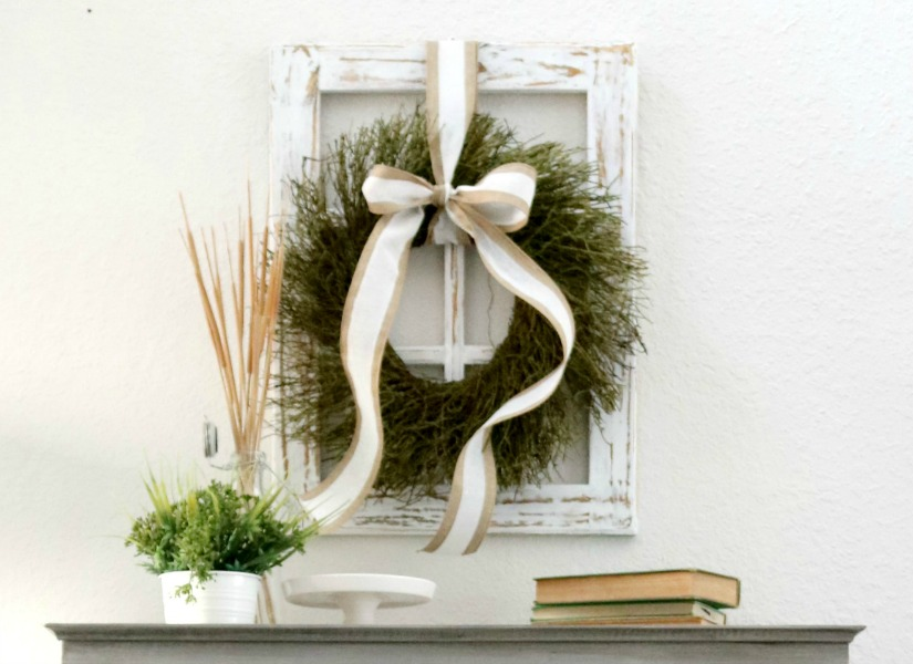 Remodelaholic   How to Build a Decorative Window Frame From Just ONE ...