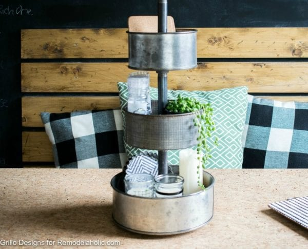 Industrial Tiered Stand From Baking Tins Grillo Designs Feature