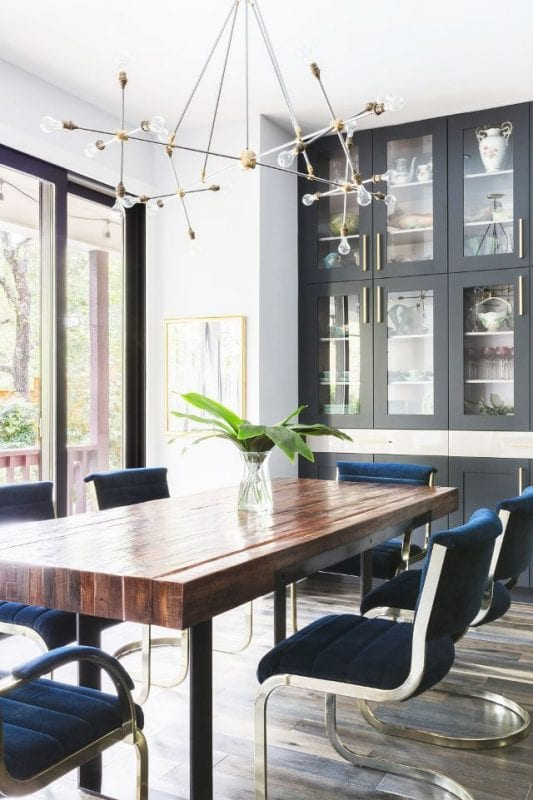 Dining Room Inspiration remodelaholic | decorating a coastal dining room: inspiration and tips