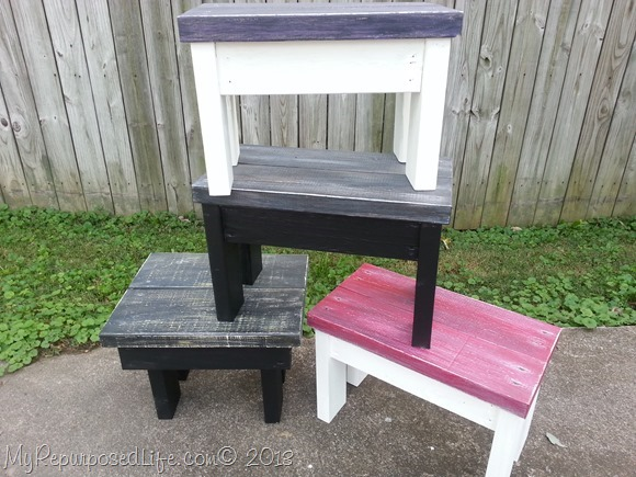 2x4 Stools Benches