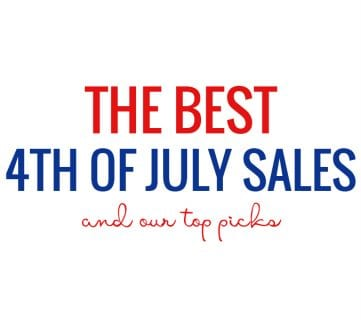 Best 4th of July Weekend Sales