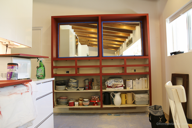 Beyond Paint In Poppy Painted Hutch @Remodelaholic 51
