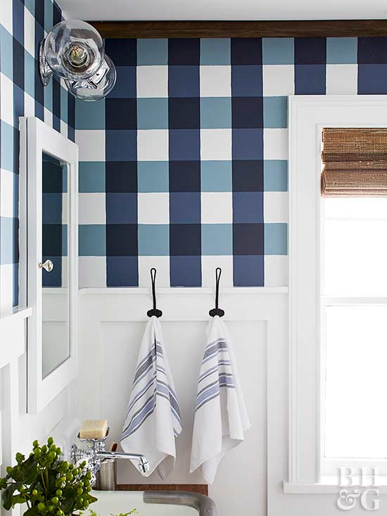 Remodelaholic Get This Look Buffalo Check Farmhouse
