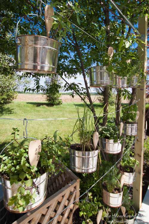 DIY Vertical Garden Vertical Garden Kit Heatherednest.com 36
