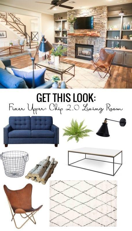 Fixer Upper Chip 2.0 Living Room
