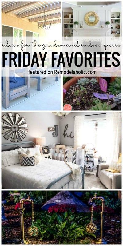 Remodelaholic friday favorites garden ideas and indoor for Indoor garden design twitter