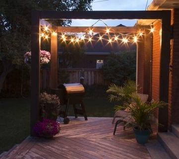 DIY Modern Deck Pergola Plans