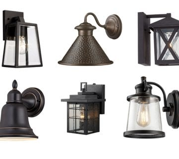 Stylish Outdoor Light Fixtures Under $50