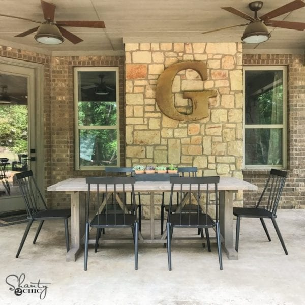Outdoor Table DIY By Shanty2Chic