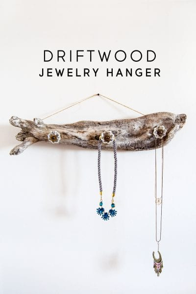Driftwood Jewelry Hanger Minted Strawberry Diy Candy 1