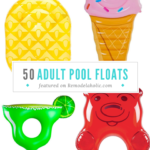 50 Of The Most Fun Adult Pool Floats Featured On Remodelaholic.com