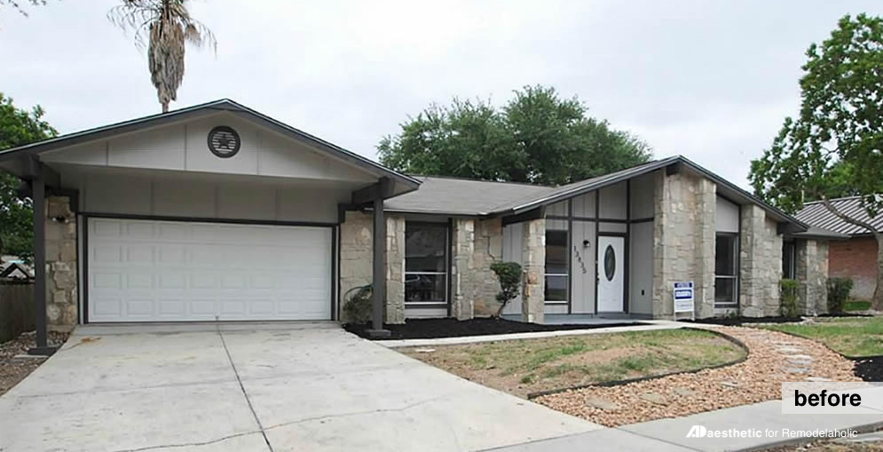 Ranch Style Homes Exterior Makeover Interesting Ranch House