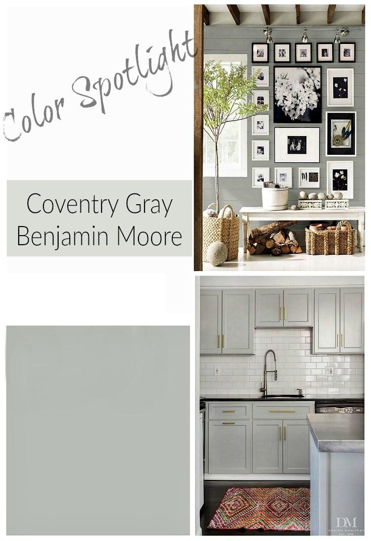 Remodelaholic Color Spotlight Benjamin Moore Coventry Gray