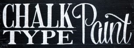 Chalk Type Paint