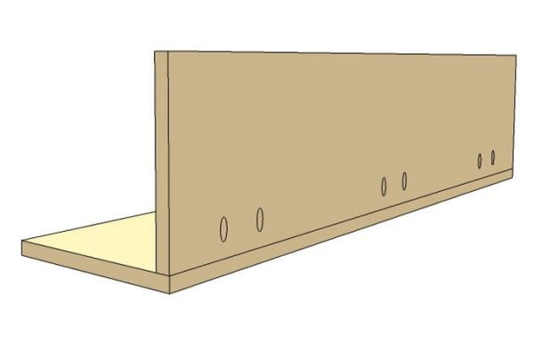 DIY Wall Shelf Building Plan Apieceofrainbow (2)