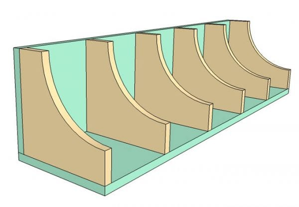 DIY Wall Shelf Building Plan Apieceofrainbow (4)