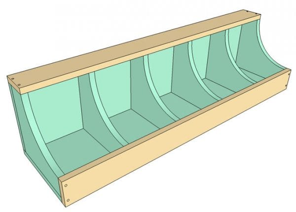 DIY Wall Shelf Building Plan Apieceofrainbow (6)